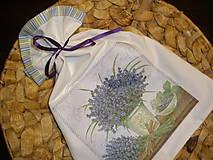 Úžitkový textil - ...voňavučká levanduľka... - 6202782_