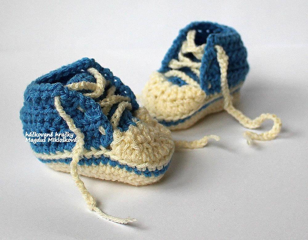 6f1655c4e778f Tenisky pre novorodenca / magdus999 - SAShE.sk - Handmade Topánočky