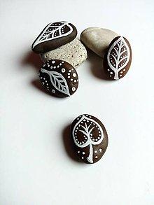 Dekorácie - Dekoračný kameň - list - 6204635_