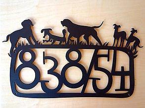 Tabuľky - Tabuľka na dom / ešte viac psíkov - 6204814_