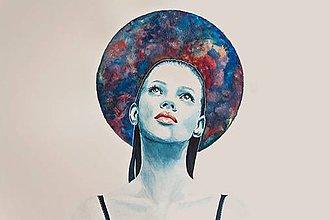 Kresby - Melancholia_A4 print - 6204298_
