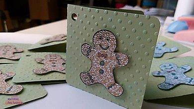 Papiernictvo - Perníček kartičkový - 6205619_