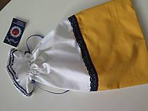 Úžitkový textil - vrecko na chlieb - 6206850_