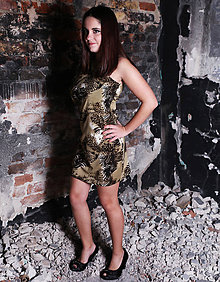 Šaty - TIGER šaty - 6207220_