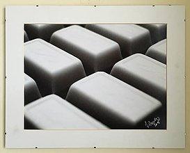 Fotografie - Fotografia Čokoláda abstract - 6207287_