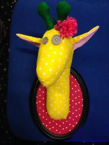 Dekorácie - žirafa Alica - 6207177_