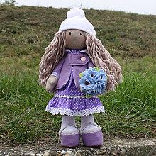 Hračky - Bábika Lola (fialová) - 6208061_