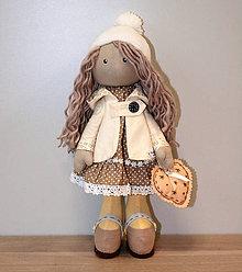 Hračky - Bábika Lola (vanilkovo-hnedá) - 6208348_