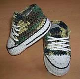 Topánočky - Maskáčové tenisky pre najmenších - 6209020_