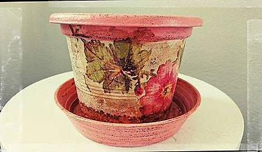 Nádoby - Kvetináč Vintage Nr.1 - 6212082_
