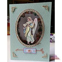 Papiernictvo - Pohľadnica s anjelským spevom - 6210494_
