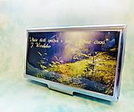 Krabičky - púzdro na vizitky Les sa prebúdza - 6211351_