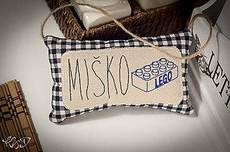 """Dekorácie - Vankúšik na dvere"""" Miško"""" - 6213668_"""