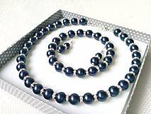 Moonlight Star set (Swarovski pearls / Silver)