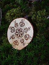 Odznaky/Brošne - Svargový čarokruh - brošňa/odznak - 6214258_