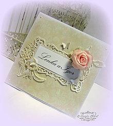 Papiernictvo - Láska s vôňou ruží... - 6215184_