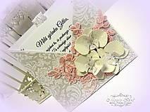 Papiernictvo - Orchidey cukrom posypané... - 6215227_