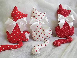 Dekorácie - Mini mačičky - 6216368_