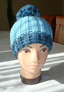 Čiapky - Zimná chlapčenská čiapka - 6219465_