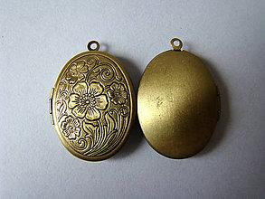 Komponenty - otvárací medailónik - 6221429_