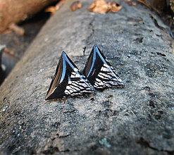 Náušnice - Trojuholníky 20 mm MINIMAL - 6219836_