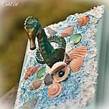 Strážca perly - šperkovnica s morským koníkom