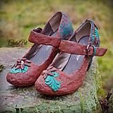 Elfské - dámske topánky