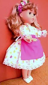 Bábiky - Šaty pre Nelu - 6221101_