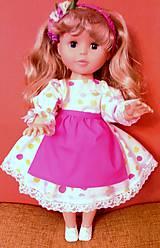Bábiky - Šaty pre Nelu - 6221102_