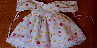 Bábiky - Šaty pre Nelu - 6221103_