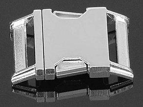 Galantéria - zapínanie trojzubec 30 mm - 6223051_