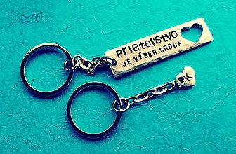 Kľúčenky - OBDĹŽNIK / 2mm hrúbka / cena za 1ks + 2ks karička - 6223883_
