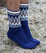 Obuv - Nórske merino ponožky so špicmi I. - 6223481_