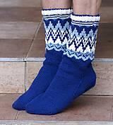 Obuv - Nórske merino ponožky so špicmi I. - 6223492_