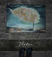 Obrazy - Vietor, 40x50, original - 6223644_