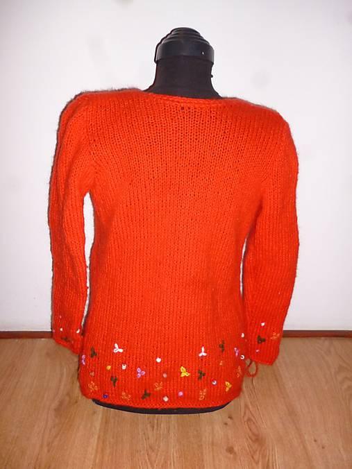 428cfa31cd62 Červený dievčenský alebo dámsky sveter.   annate - SAShE.sk ...