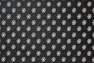 Textil - Dekoračný filc - kvietok - 6223825_