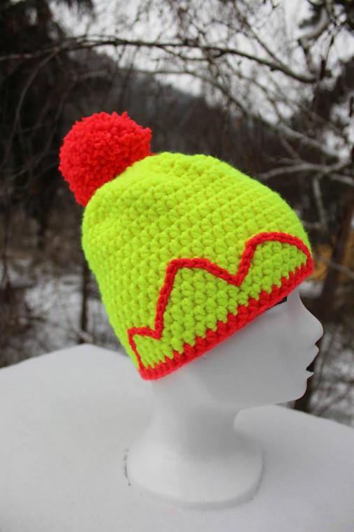 eb8f3fe5c Neonové čapice sada / Bombora - SAShE.sk - Handmade Čiapky