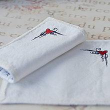 Úžitkový textil - Prestieranie srdiečko - 6223430_