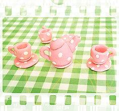 Hračky - Čajový set pre bábiky - 6221874_