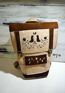 Batohy - ľudový batôžtek - 6227199_