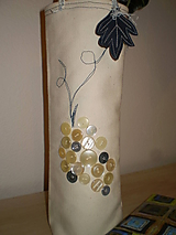 Úžitkový textil - Taštička na fľašku - 6226159_