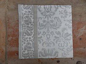 Papier - strieborný vzor 6 - 6224427_