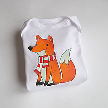 Detské oblečenie - Body líška - 6229891_