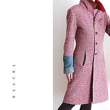 Kabáty - Zimní kabát s prošívanou podšívkou - 6227595_