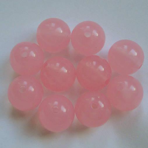 MILK plast 11mm-ružová-1ks