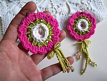 Sady šperkov - maxi farebné náušničky - 6227745_
