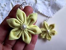 Náušnice - kvitnúce náušnice - 6227762_