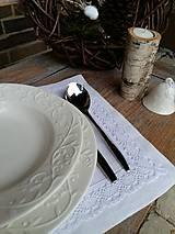 Úžitkový textil - Prestieranie Pure Beauty biele - 6228014_