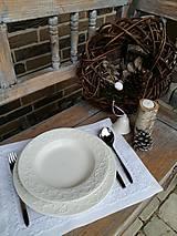 Úžitkový textil - Prestieranie Pure Beauty biele - 6228016_